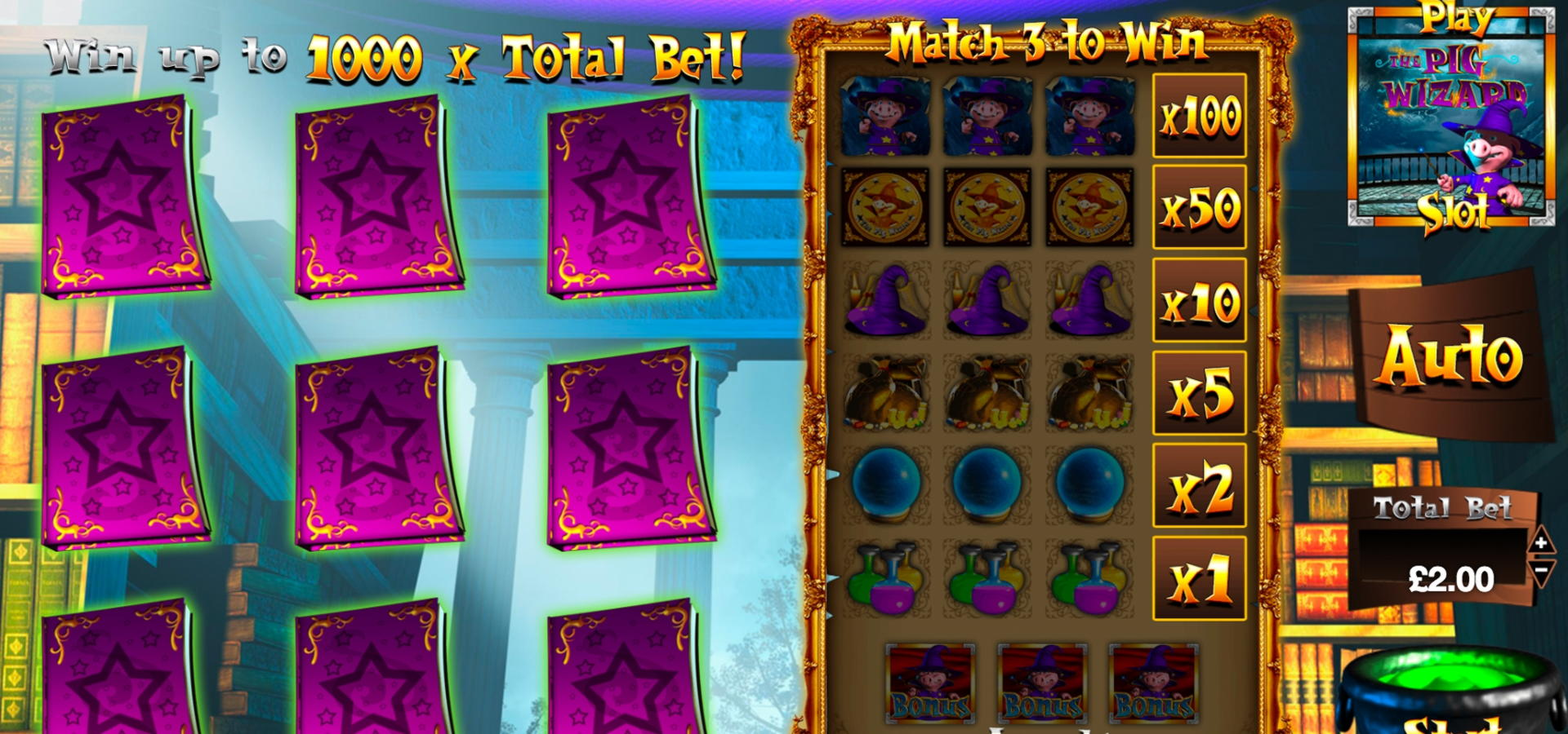 180 Trial Spins am Wins Park